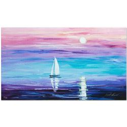 """Leonid Afremov """"Expansive"""" Limited Edition Giclee on Canvas, Numbered and Signed; Certificate of Aut"""