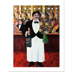 "Guy Buffet, ""Monsieur Henri"" Limited Edition Serigraph; Numbered and Hand Signed with Certificate of"