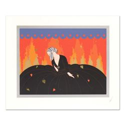 "Erte (1892-1990), ""Memories"" Limited Edition Serigraph, Numbered and Hand Signed with Certificate of"