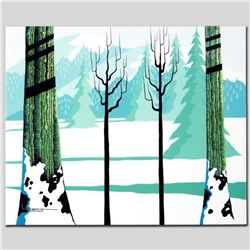 """Winter"" Limited Edition Giclee on Canvas by Larissa Holt, Numbered and Signed with COA. This piece"