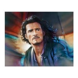 "John Alvin (1948-2008), ""Will Turner"" Limited Edition Giclee on Canvas, Licensed by Disney Fine Art,"