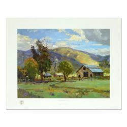 "Thomas Kinkade (1958-2012), ""San Benito"" Offset Lithograph, Signed with Letter of Authenticity."