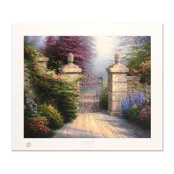 "Thomas Kinkade (1958-2012), ""Open Gate"" Limited Edition Offset Lithograph, Numbered and Hand Signed"