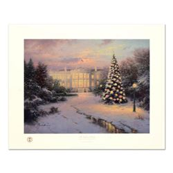 "Thomas Kinkade (1958-2012), ""Lights of Liberty"" Limited Edition Offset Lithograph, Numbered and Hand"