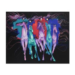 "Bonny Leibowitz, ""Wild is the Wind"" Limited Edition Serigraph (49"" x 38.5""), Numbered and Hand Signe"