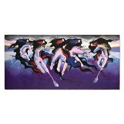 "Bonny Leibowitz, ""The Wind Gave Them Life"" Limited Edition Serigraph (73"" x 36""), Numbered and Hand"