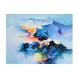 """H. Leung, """"Celestial Vista"""" Limited Edition on Canvas, Numbered and Hand Signed with Letter of Authe"""