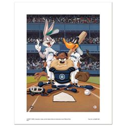 At the Plate (Mariners)  Numbered Limited Edition Giclee from Warner Bros. with Certificate of Auth