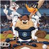 """Image 2 : """"At the Plate (Mariners)"""" Numbered Limited Edition Giclee from Warner Bros. with Certificate of Auth"""