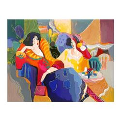 """Isaac Maimon, """"Something To Say"""" Limited Edition Serigraph, Numbered and Hand Signed with Letter of"""