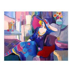 """Isaac Maimon, """"My Favorite Place"""" Limited Edition Serigraph, Numbered and Hand Signed with Letter of"""