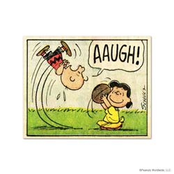 """Peanuts, """"AAUGH!"""" Hand Numbered Limited Edition Fine Art Print with Certificate of Authenticity."""