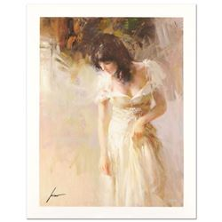 """Pino (1939-2010) """"White Rhapsody"""" Limited Edition Giclee. Numbered and Hand Signed; Certificate of A"""