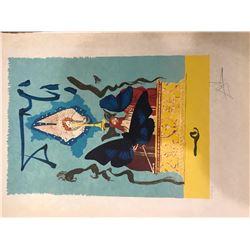 """Salvador Dali  """"The Resurrection- Judgement"""""""