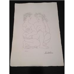 Pablo Picasso Original Limited Edition Lithograph on wove paper From the Suite Vollard