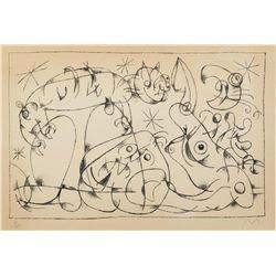 Joan Miro, Ubu Roi M.490 1966