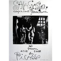 Pablo Picasso hand signed Original Lithograph