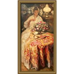 Jose Royo Serigraph on Panel Hand Signed Limited Edition
