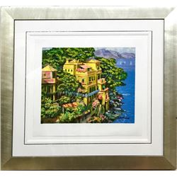 Howard Behrens Serigraph Hand Signed and Numbered