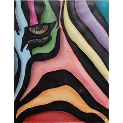 "Shay Yair ""Colors"" Original Acrylic on Canvas"