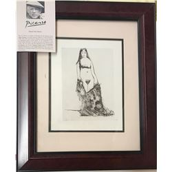 Pablo Picasso From The 347 Series Custom Framed