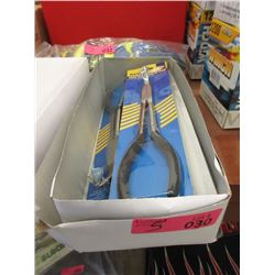 Box of 5 New Long Nose Pliers
