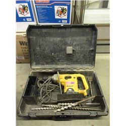 Heavy Duty DeWalt Rotary Hammer Drill