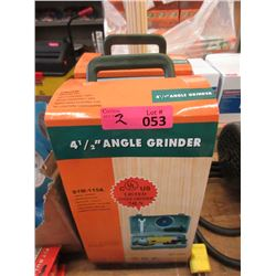 "2 New 4 1/2"" Angle Drills"