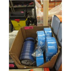 "Box of I-Tape - Seven 2"" Rolls & Eight 1"" Rolls"