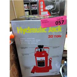 20 Ton Hydraulic Bottle Jack