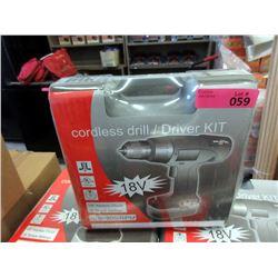 New 28 Volt Cordless Drill/Driver Kit