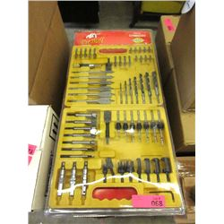 New 59 Piece Quick Bit Set