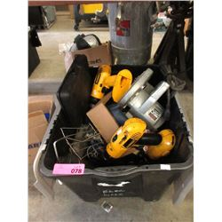 Box of Power Tools & More