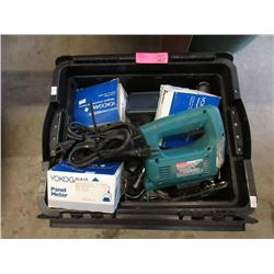 Box of Power Tools, Hardware & More