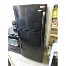 Maytag Black Top Freezer Refrigerator