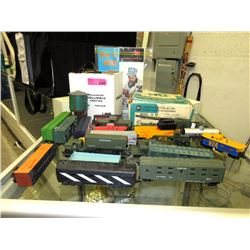 20 HO Scale Train Cars, Dual Control & More