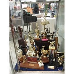 25 Vintage Bowling Trophies - 1960's - 1980
