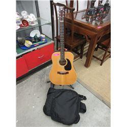 Suzuki Acoustic Guitar with Soft Case