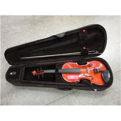 Child's Violin with Bow and Fitted Case