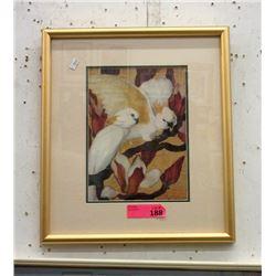Framed Print of Cockatoos