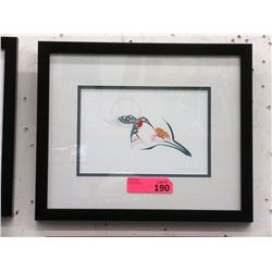 Richard Shorty Framed Print - Lily of the Valley