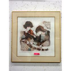 """Rosina Wachtmeister Framed Print """"Sonata"""""""