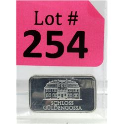 10 GramGeiger Edelmetalle .999 Silver Bar