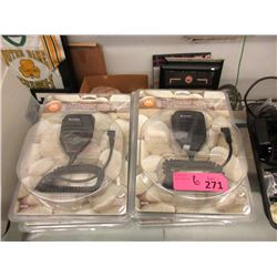 6 New Motorola 53724 Remote Speakers Handsets