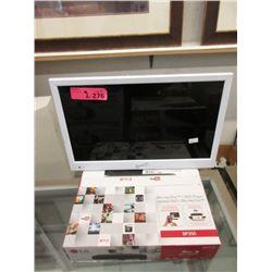 1 LG BP 350 Blu-ray Disc/DVD Player & Small LED TV