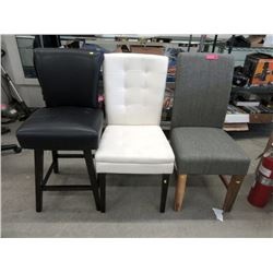 3 Assorted Side Chairs - Store Returns