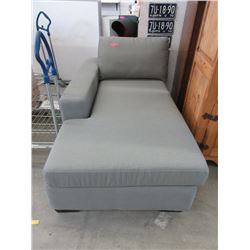 New Stylus Fabric Upholstered Chaise End