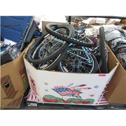 Skid of Assorted Store Return Bike Parts