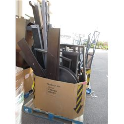 Skid of Assorted Furniture Parts - Store Returns