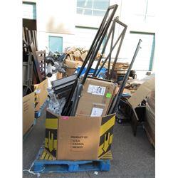 Skid of Patio Furniture Parts - Store Returns